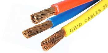 (Cables flexibles.)