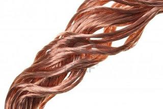 (El cobre es conductor de electricidad.)