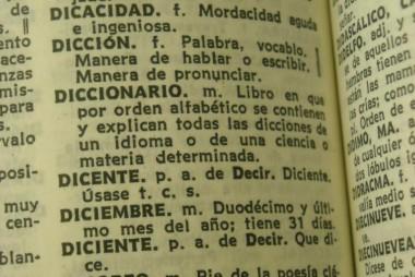 (Qué es un diccionario. Tipos.)
