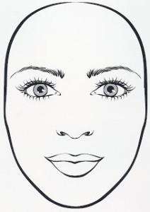 Cara ovalada