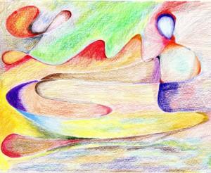 tecnica de dibujo con color