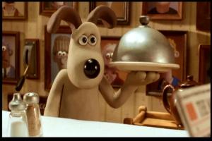 """(""""Wallace y Gromit - El hombre de Nieve"""")"""