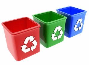(Para preservar el medioambiente, lo ideal es reciclar la basura)