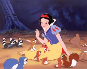 """(""""Blancanieves y los siete enanitos"""")"""