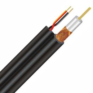 (Cable coaxial. Ilustración)