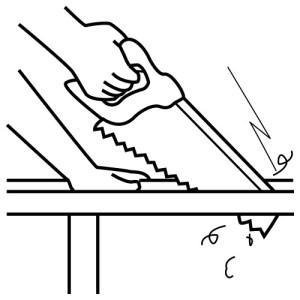 (La sierra es una herramienta clave para los carpinteros)