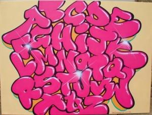 (Bubble letter)