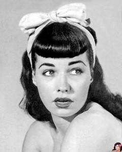 (Flequillo pin up)