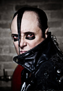(Jerry Only de la banda Misfits)