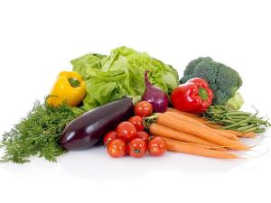 (Las hortalizas están compuestas principalmente por agua)