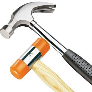 (Existen distintos modelos de martillos)