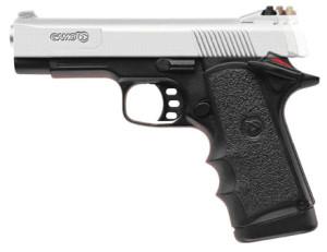 (Las pistolas son armas de fuego)