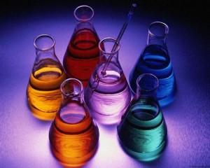 (Sustancias químicas. Ilustración)