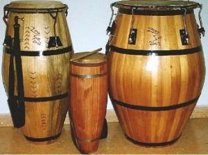 (Tambores de candombe)