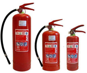 """(Los extintores también se llaman """"matafuegos"""")"""